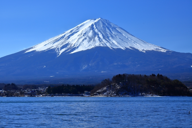 山梨-美しい富士山_河口湖でワーケーション
