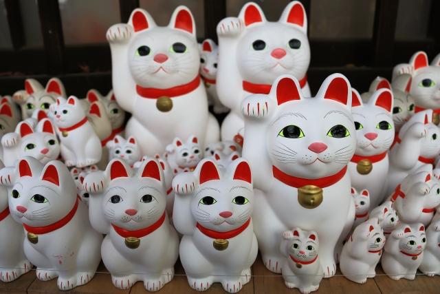 世田谷-(豪徳寺)招き猫3